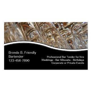 Bartender Business Cards