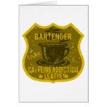 Bartender Caffeine Addiction League