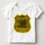 Bartender Caffeine Addiction League Baby T-Shirt
