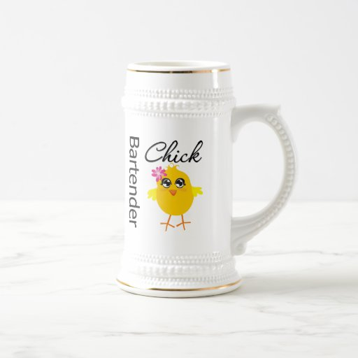 Bartender Chick Mug