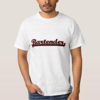Bartender Classic Job Design T-Shirt
