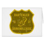 Bartender Drinking League