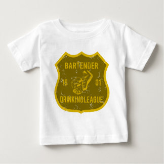Bartender Drinking League Baby T-Shirt