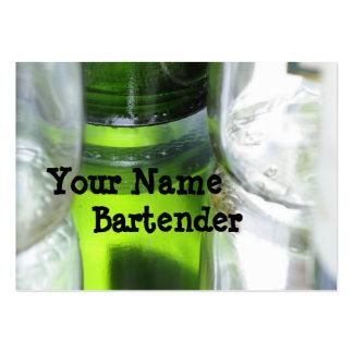 Bartender Large Business Card