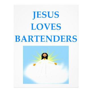 BARTENDER LETTERHEAD