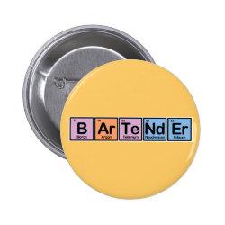 Round Button with Bartender design
