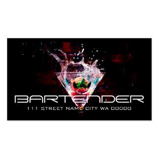 Bartender Nightlife Business Card