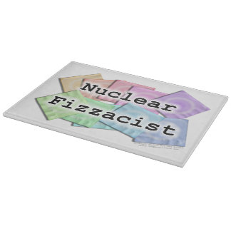 Bartender - Nuclear Fizzacist GLASS CUTTING BOARDS