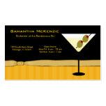Bartender/Owner Bar Business Cards