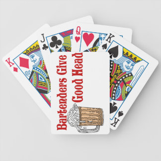 Bartender Playing Cards