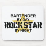 Bartender Rock Star Mouse Pad