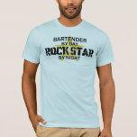 Bartender Rock Star T-Shirt