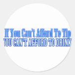 Bartender Saying Classic Round Sticker