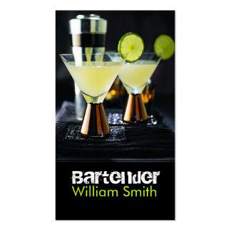Bartender Plantilla De Tarjeta De Negocio