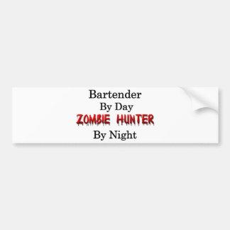 Bartender/Zombie Hunter Bumper Sticker