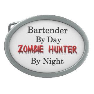 Bartender/Zombie Hunter Oval Belt Buckle