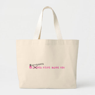 Bartenders Have More Fun Canvas Bag