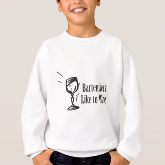 Bartenders Like To Wine