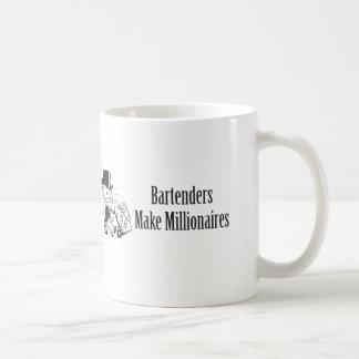 Bartenders Make Millionaires Coffee Mug
