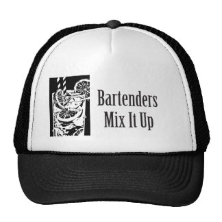 Bartenders Mix It Up Trucker Hat