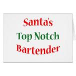 BartenderTop Notch Greeting Card