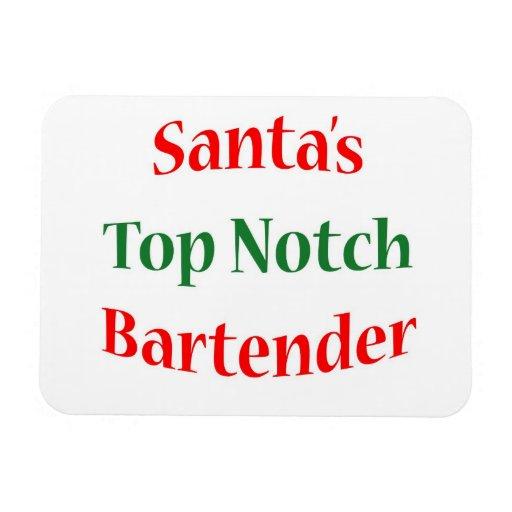 BartenderTop Notch Rectangular Magnet