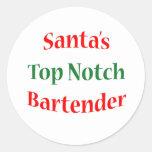 BartenderTop Notch Sticker