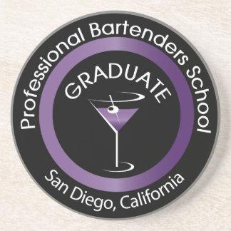 Bartending School Graduate Drink Coaster
