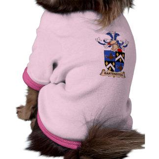 Bartenstein Family Crests Dog Clothes