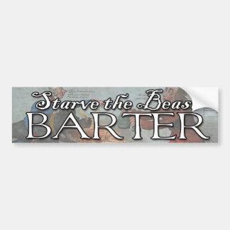Barter! Bumper Sticker