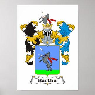 "Bartha Family Hungarian Coat of Arms 11x15"" Print"