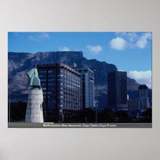 Bartholomew Diaz Memorial, Cape Town, Cape Provinc Poster
