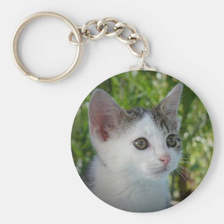 Barti the Cat Keychain