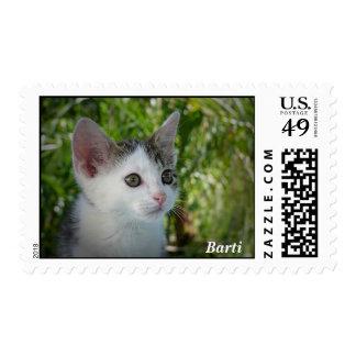 Barti the Cat Stamp