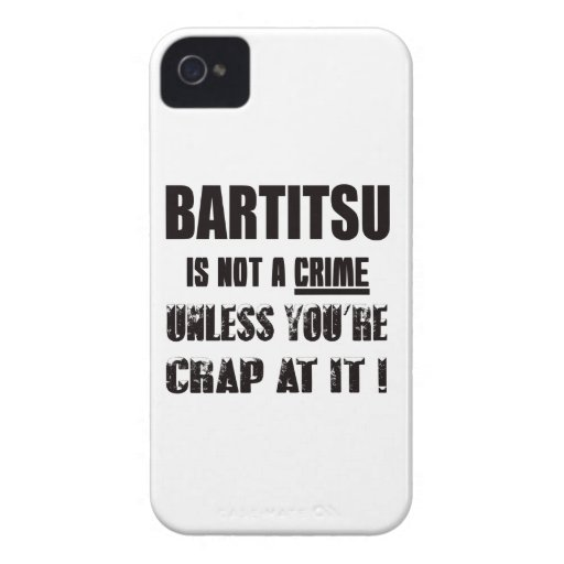 Bartitsu is not a crime iPhone 4 case