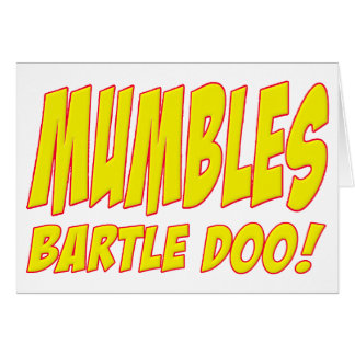 Bartle Doo Mumbles Skippy Card