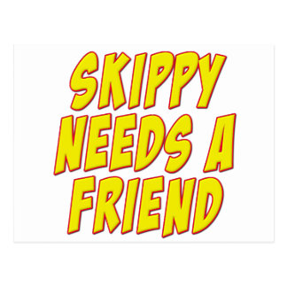 Bartle Doo Mumbles Skippy Postcard