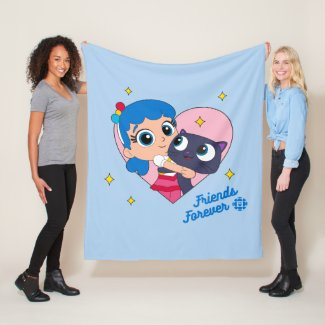 Bartleby - Friends Forever Fleece Blanket