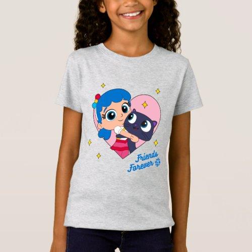 Bartleby _ Friends Forever Girls T_Shirt