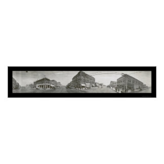 Bartlesville, Oklahoma Photo 1910 Poster