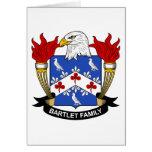 Bartlet Family Crest Cards