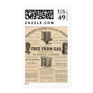 Bartlett and Leslie Postage Stamp