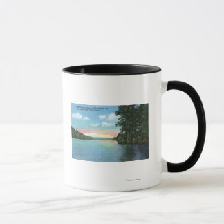 Bartlett Carry Club View of Upper Saranac Lake Mug