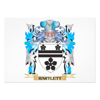 Bartlett Coat of Arms Cards