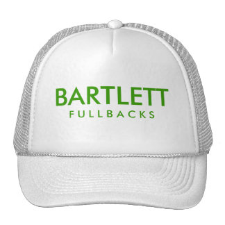 BARTLETT F U L L B A C K S HAT