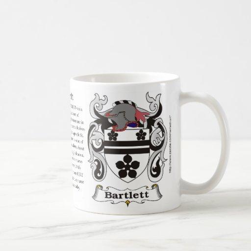 Bartlett Family Coat of Arms Mug