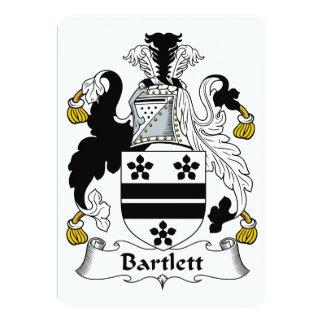 Bartlett Family Crest Card
