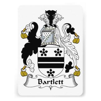 Bartlett Family Crest Announcements