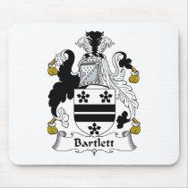 Bartlett Family Crest Mousepad