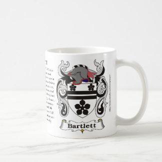 Bartlett Family Crest Mug